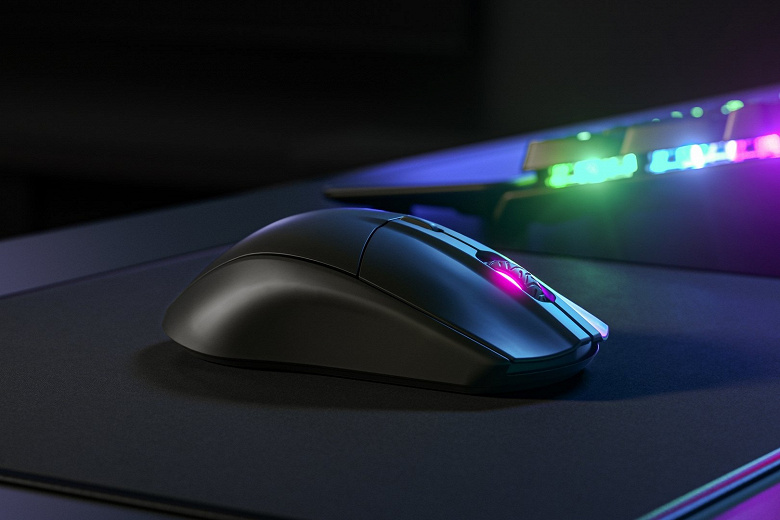 Беспроводная игровая мышь SteelSeries Rival 3 Wireless работает без замены источника питания 400 часов