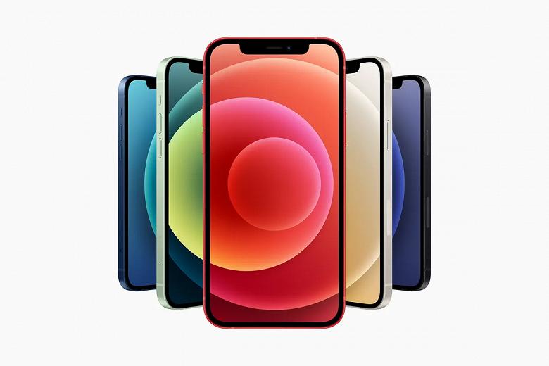 iPhone 12 сохранил «чёлку», но получил более изящный «подбородок»