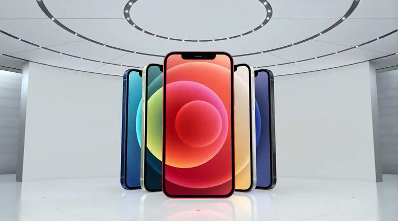 Представлен первый iPhone с поддержкой 5G. iPhone 12 получил культовый дизайн iPhone 4 и безрамочный экран OLED