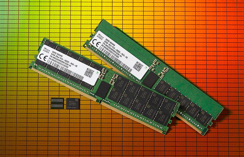 Выпущена первая в мире память DDR5 DRAM. Это сделала SK Hynix