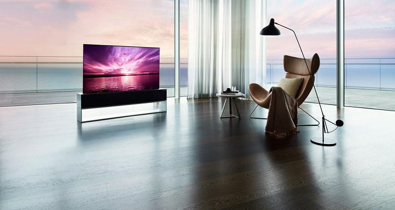 Первый в мире сворачиваемый в трубочку умный телевизор оценён в 87 000 долларов. Представлен LG Signature OLED TV R