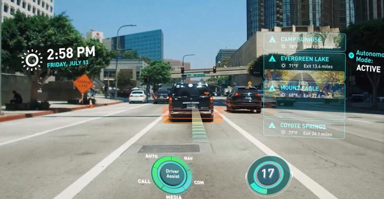 Автомобильная дополненная реальность нового поколения. В кроссовере Cadillac Lyriq может появиться уникальная технология