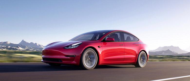 В Европе уже продаются электромобили Tesla Model 3 китайского производства