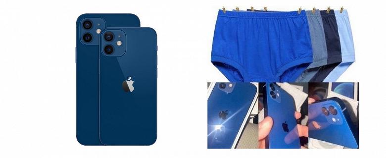 Apple закидали тапками за настоящий синий цвет iPhone 12