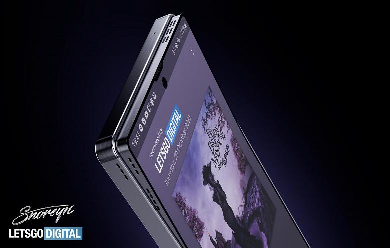 Samsung с «выпадающим» из корпуса экраном, отличным звуком и поддержкой стилуса. Качественные изображения на базе патента