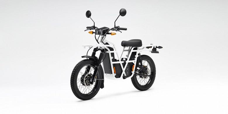 UBCO обновляет электрический мотоцикл, на треть увеличивая пробег на одной зарядке