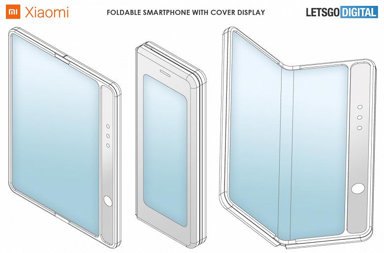 Гибкий смартфон Xiaomi только на первый взгляд похож на Samsung Galaxy Fold
