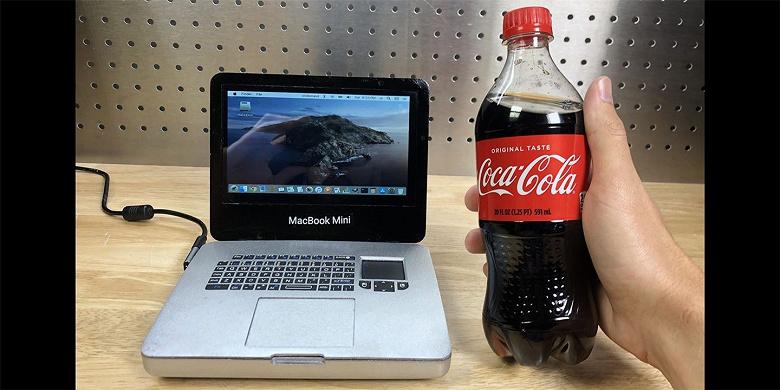 Энтузиаст собрал MacBook Mini из Raspberry Pi 4