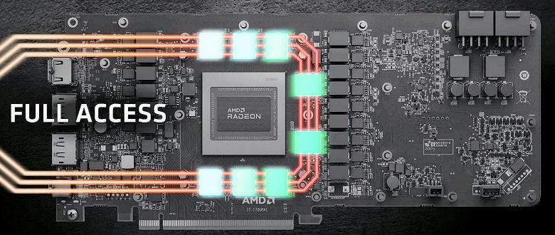Теперь понятно, как новые видеокарты Radeon RX 6000 будут ускорять трассировку лучей