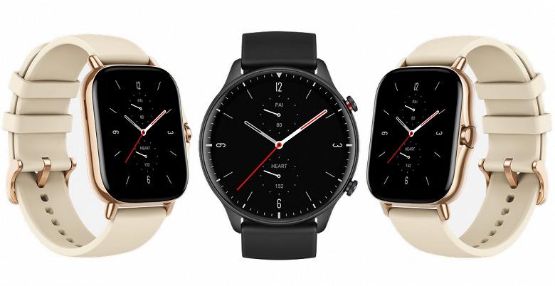 AMOLED, GPS, пульсоксиметр и непрерывный мониторинг ЧСС за 180 евро. Названы цены умных часов Amazfit GTR 2 и GTS 2 для Европы