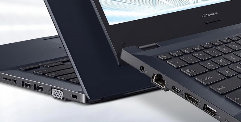 Новый ноутбук Asus очень лёгкий, прочный, с современной платформой и портом VGA. Представлен ExpertBookP2451