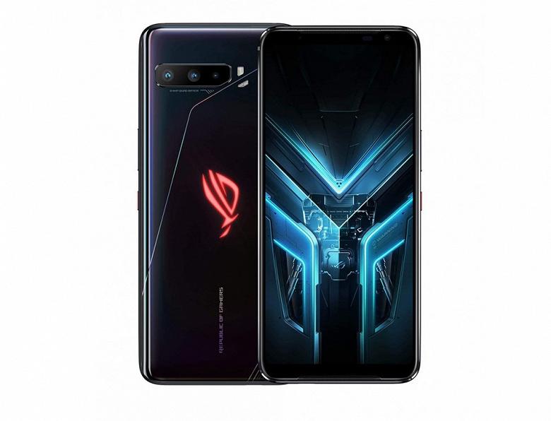 144 Гц, 16 ГБ и 6000 мА·ч. Стартовали продажи игрового монстра Asus ROG Phone 3 в России
