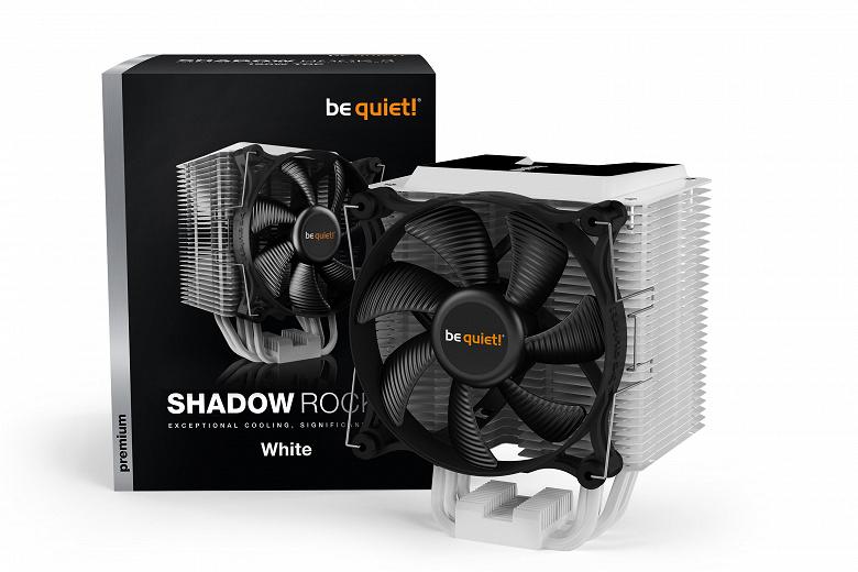 Анонсированы продажи процессорной системы охлаждения be quiet! Shadow Rock 3 White
