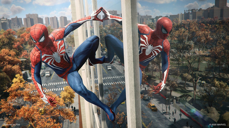Sony показала возможности PS5 на примере Spider-Man: Remastered. Главный герой теперь похож на Тома Холланда