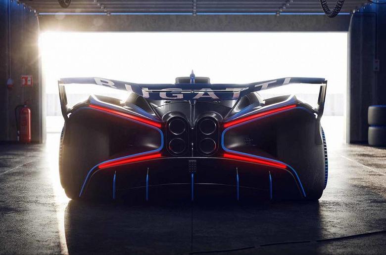 1825 л.с. на 1240 кг массы и максимальная скорость свыше 500 км/ч. Анонсирован гиперкар Bugatti Bolide