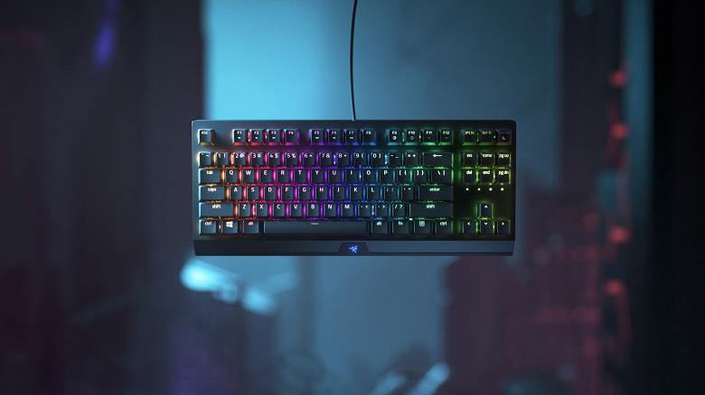 Клавиатура Razer BlackWidow V3 Tenkeyless доступна в двух вариантах