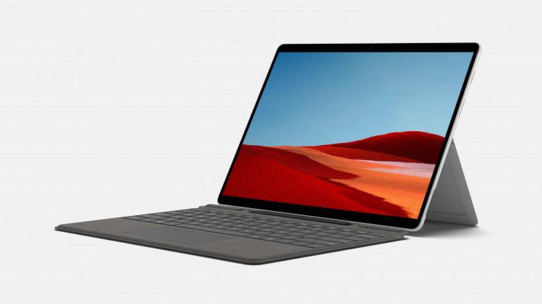 Microsoft обновила планшет Surface Pro X. Он получил платформу SQ2 и… новый цвет