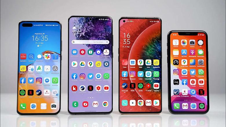 Samsung может поставлять Huawei только экранные панели без микросхем