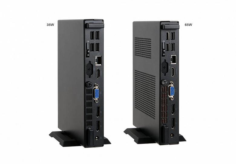 В конфигурацию мини-ПК ECS Liva One H410 может входить процессор Intel в исполнении LGA 1200 с TDP 35 или 65 Вт
