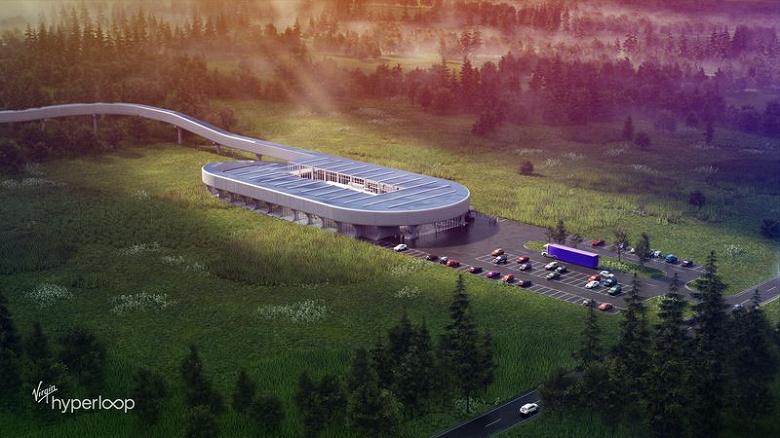 Идея Hyperloop ещё жива. Компания Virgin Hyperloop выбрала, где будет строить свой цент стоимостью полмиллиарда долларов