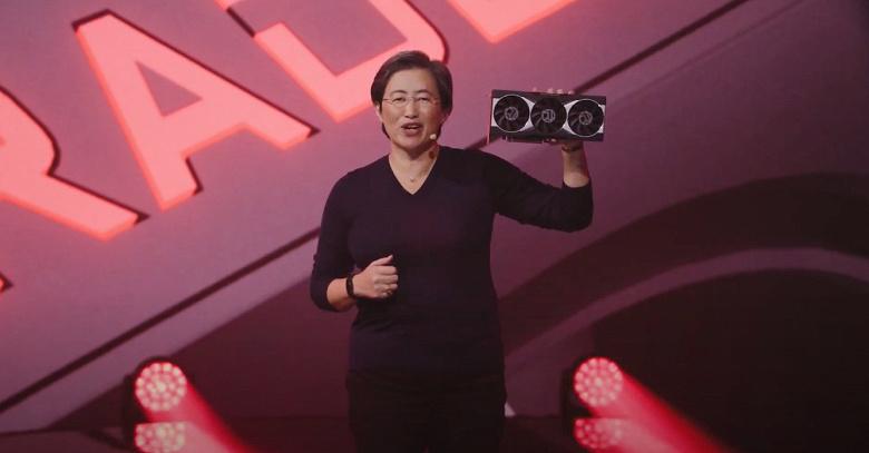 AMD показала флагманскую видеокарту линейки Radeon RX 6000 и поделилась её результатами в играх
