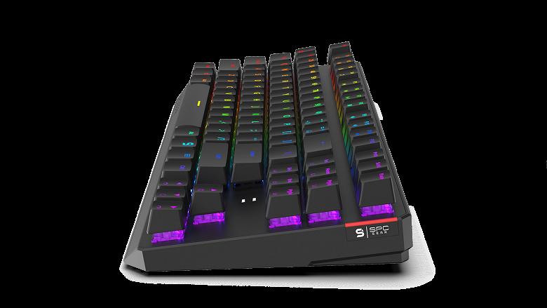 В клавиатуре SPC Gear GK630K используются переключатели Kailh