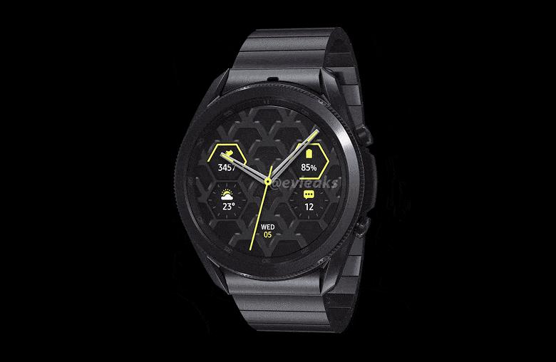 Умные часы Samsung Galaxy Watch3 Титан теперь доступны и в России