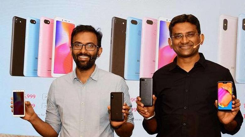 Xiaomi, Samsung, Vivo, Realme и Oppo занимают около 94% крупнейшего рынка смартфонов