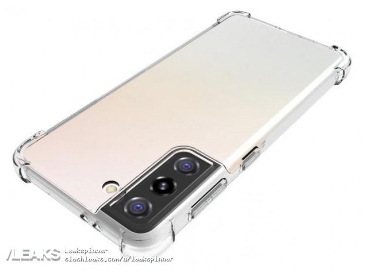 Производитель чехлов подтвердил дизайн Samsung Galaxy S21