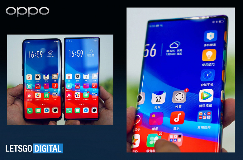 Это назовут экран-суперводопад? Примерно так может выглядеть Oppo Find X3 Pro