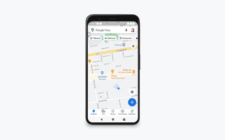 Google покажет загруженность и безопасность магазинов и ресторанов, в том числе в России