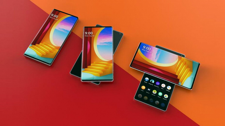 Флагман The Rainbow и смартфон-свиток B Project. Новые устройства LG