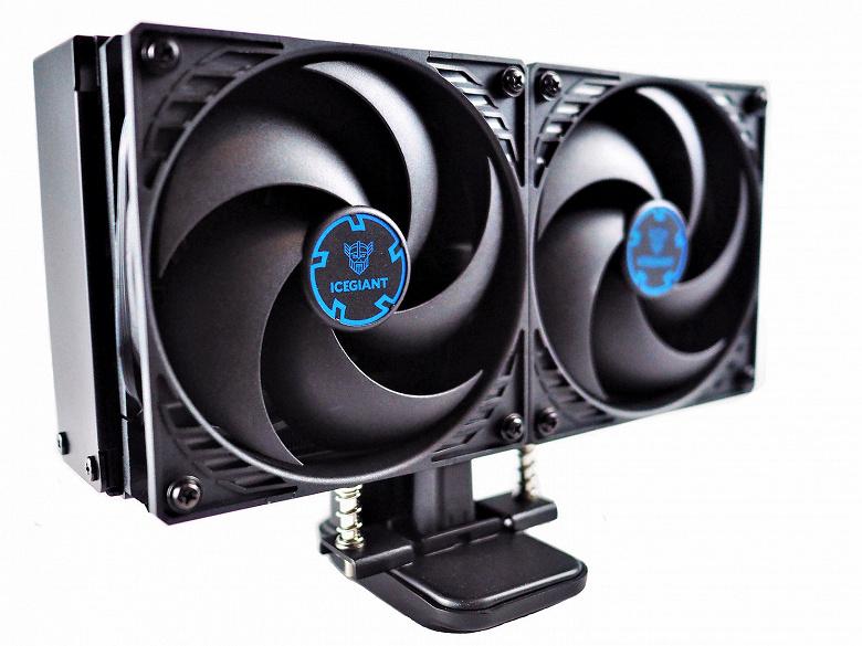 Монструозный двухкилограммовый процессорный кулер IceGiantProSiphonElite вышел на рынок