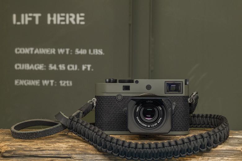 Памятных камер Leica M10-P Reporter с кевларовым покрытием будет выпущено 450 штук