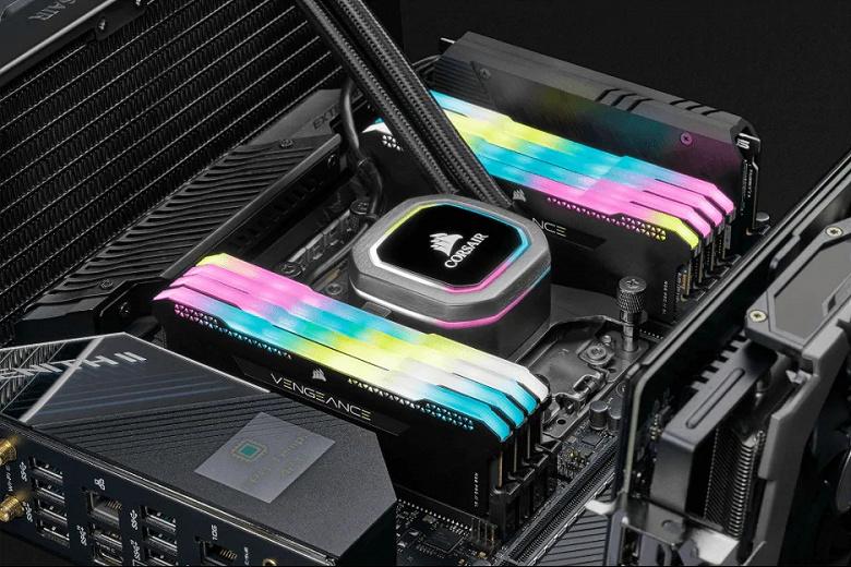 Начались продажи комплектов модулей памяти Corsair Vengeance RGB Pro SL