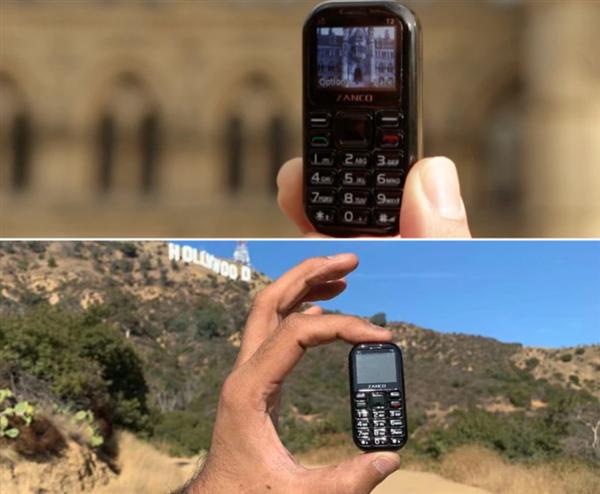 7 дней автономной работы, камера 0,3 Мп, масса 31 грамм и «Змейка». Поступил в продажу самый маленький в мире смартфон с поддержкой 3G