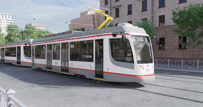 Первый беспилотный трамвай появится в России в 2022 году