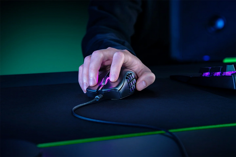 Игровая мышь с 18 кнопками. Анонс Razer Naga X Gaming Mouse