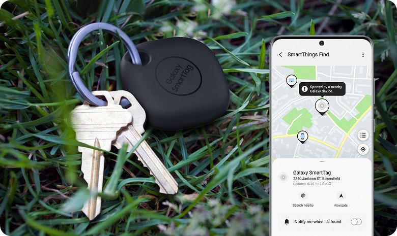 Samsung показала примеры использования оригинальной новинки Galaxy SmartTag