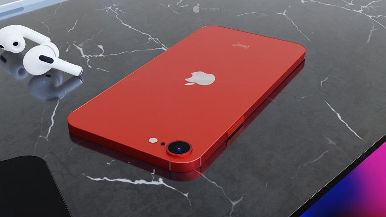 Как может выглядеть бюджетный iPhone SE Plus. Красивые изображения, новые подробности и цены