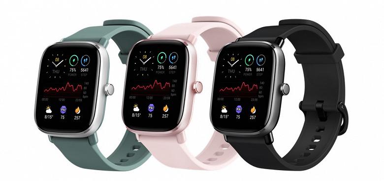 AMOLED, GPS, SpO2, недорого. Умные часы Amazfit GTS 2 mini прибыли в России