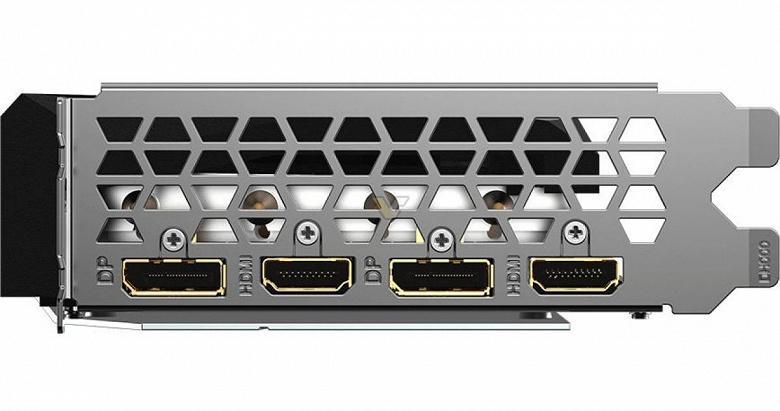 Видеокарта Gigabyte GeForce RTX 3060 Ti Gaming OC Pro стала тоньше