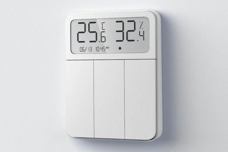 Новый термостат Xiaomi Mijia также является умным выключателем