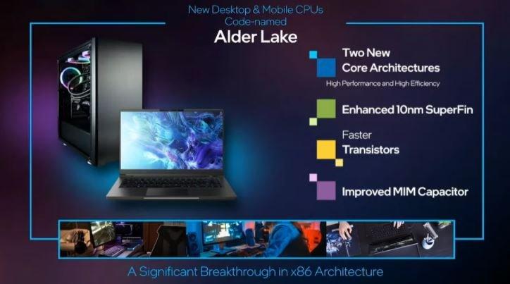Intel анонсировала разноядерные процессоры Core 12 поколения