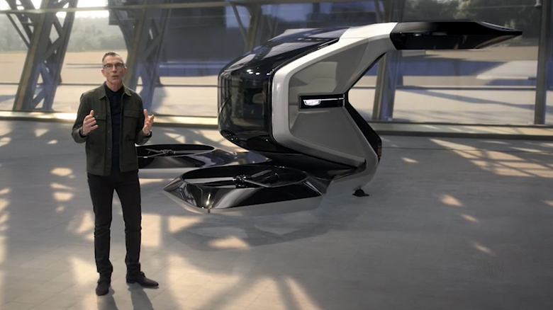 Такой Cadillac не снился и Моргенштерну. Самоуправляемый летающий Cadillac сможет садиться и взлетать вертикально