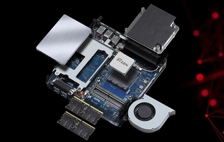 Литровый мини-ПК с производительным восьмиядерным процессором AMD. Представлен ASRock JupiterX300