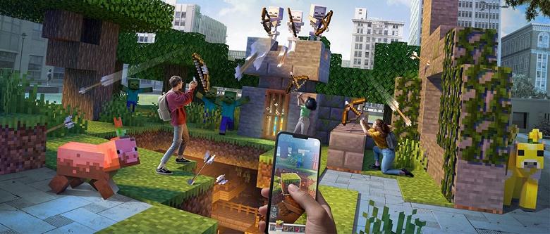 Microsoft закрывает Minecraft Earth из-за пандемии коронавируса
