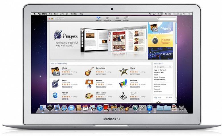 Apple отмечает 10 лет Mac App Store