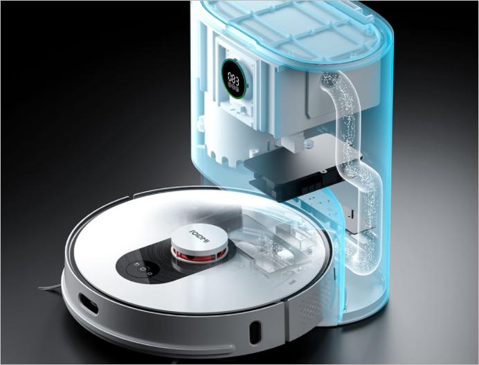 Xiaomi выпустила моющий робот-пылесос с функцией самоочистки
