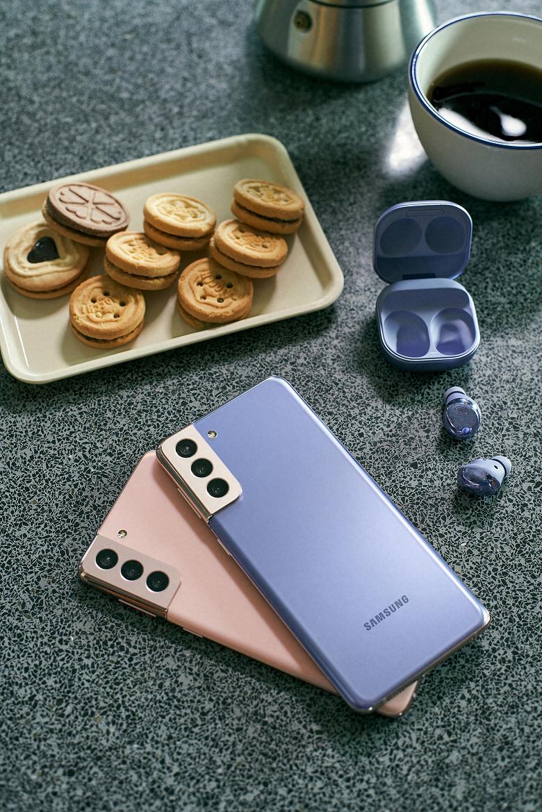 Представлены флагманские наушники Samsung Galaxy Buds Pro